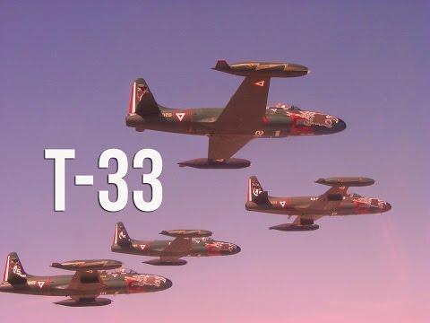 Así volaban los T33 de la Fuerza Aérea Mexicana [FAM]