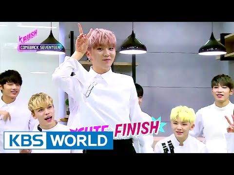 SEVENTEEN is back!!!!! [KBS World Idol Show K-RUSH / 2017.06.02]