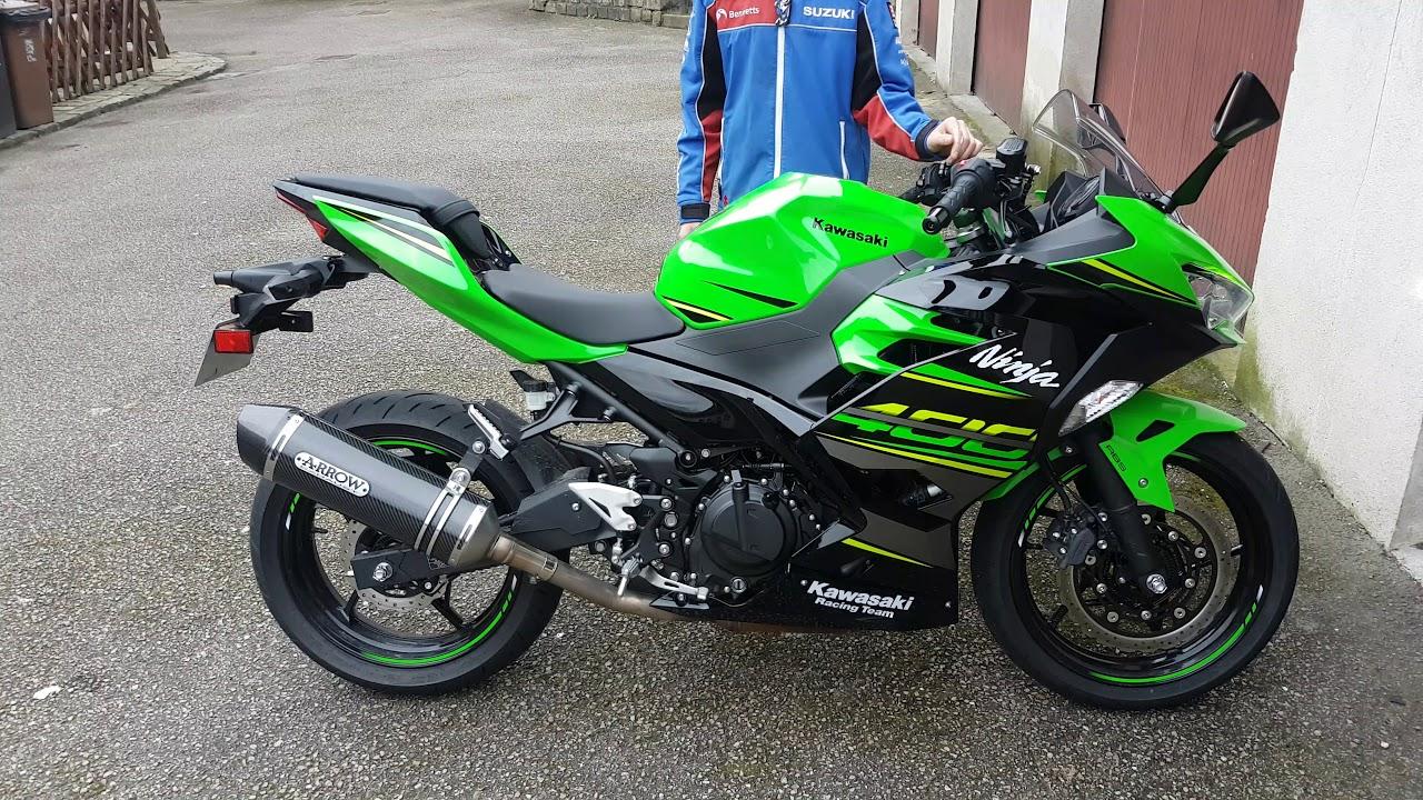 arrow exhaust ninja 400 riders forum