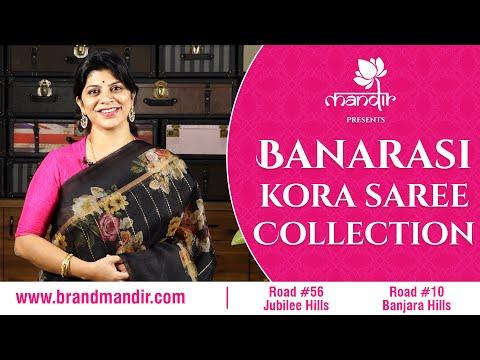 Latest Banarasi Kora Sarees | Brand Mandir | Episode 46