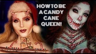 HOW TO BE A CANDY CANE QUEEN l Glamorous Massacre