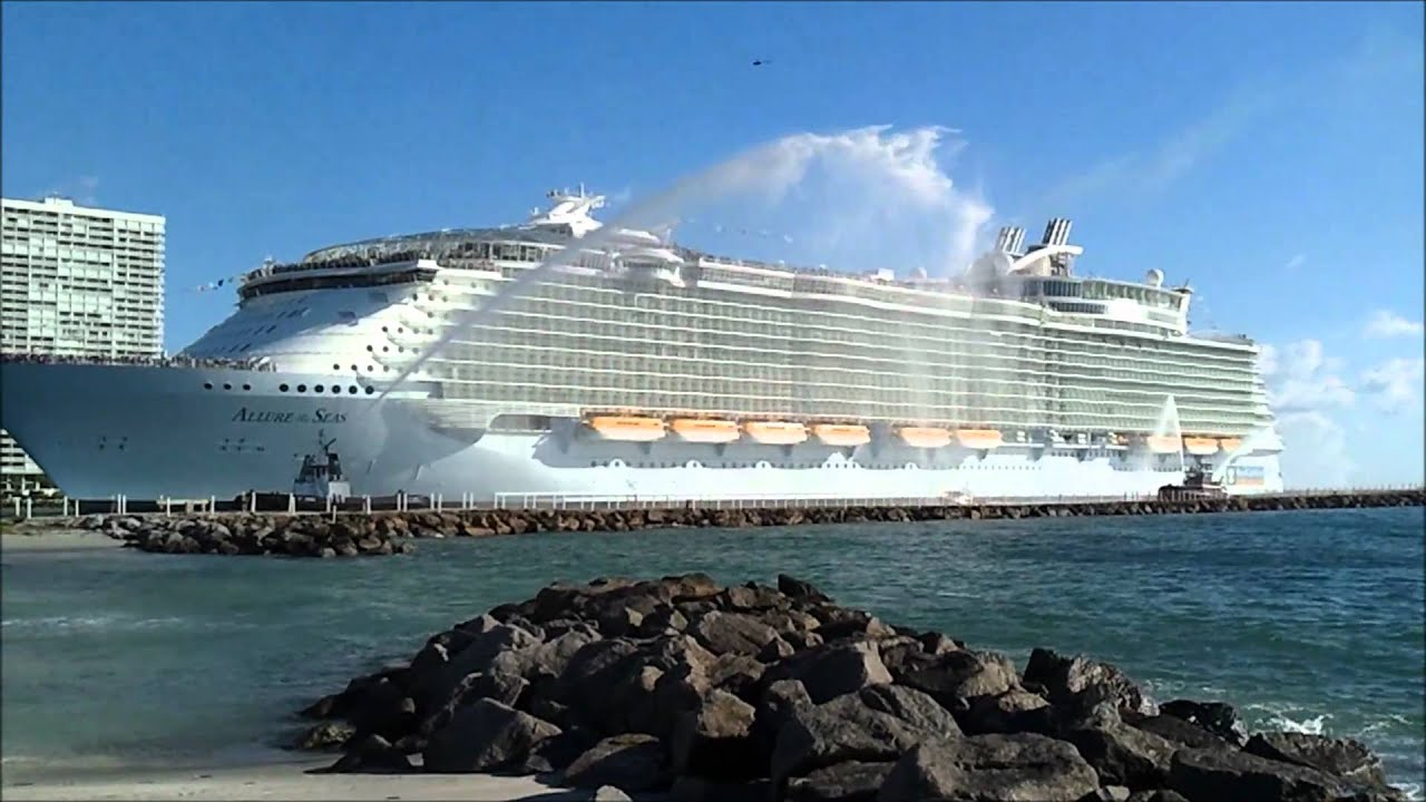 Allure of the seas first arrival at port everglades fl youtube - The allure of the modular home ...