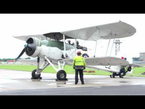 Fairey Swordfish LS326/L2 Start Up & Take Off