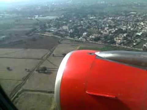 Go Air Delhi Landing