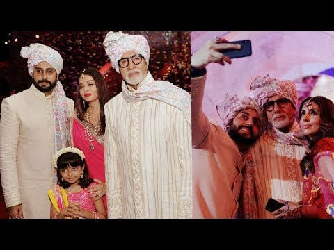 Bachchan family attend a wedding all together and looks amazing |Aishwarya Rai Bachchan 😍