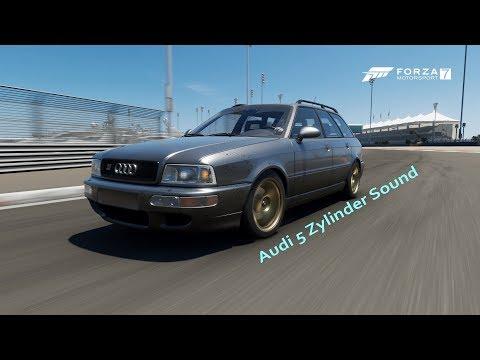 Forza 7 Audi 5 Zylinder Sound | Audi RS2 Avant