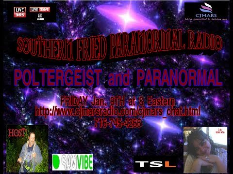 Southern Fried Paranormal Radio Poltergeist show