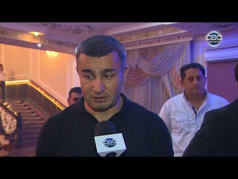 Qurban Qurbanov toy meclisinde - Imaret azarkeş qrupunun sad gunu ( reporter: Vasif Acalov)