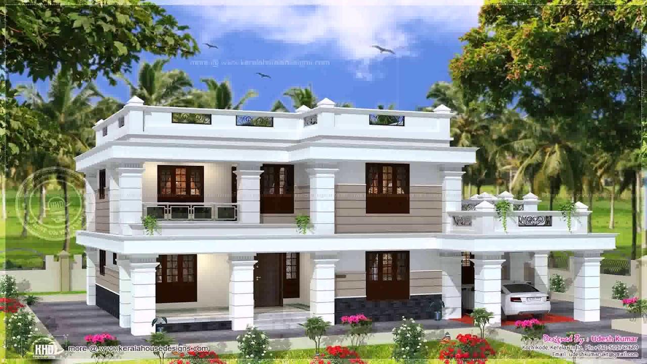 Kerala Home Design Flat Roof Elevation Gif Maker