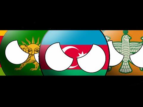 CountryBall:  History Of Azerbaijan