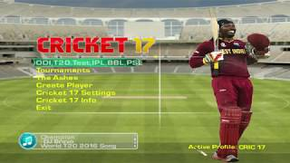 EA CRICKET 17 PC Gameplay   IND vs AUS
