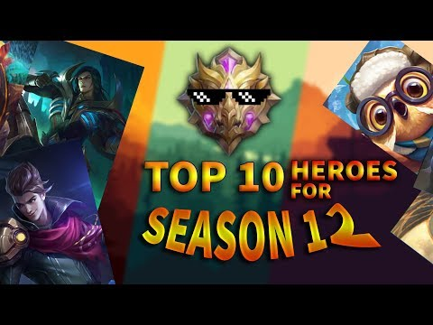 Top 10 Best Heroes For Season 12 | Mobile Legends Bang Bang thumbnail