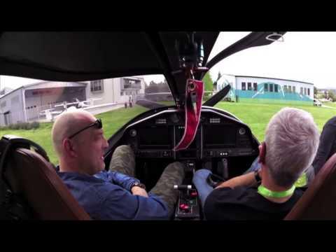 Pipistrel Panthera Flight Trial