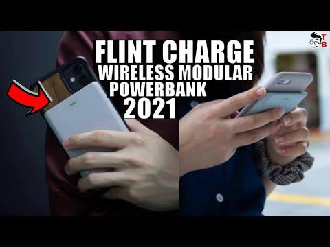 Flint Charge PREVIEW: First Modular Wireless Powebank 2021!