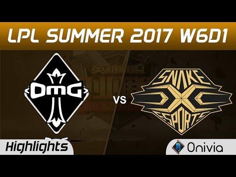 OMG vs SS Highlights Game 2 LPL SUMMER 2017 OMG vs Snake by Onivia