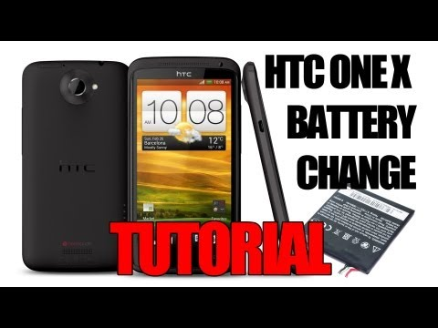 HTC One X Battery Replacement Tutorial - Using the HTC One X+ Battery