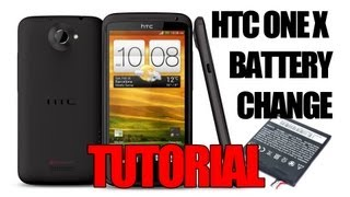 HTC One X Battery Replacement Tutorial - Using the HTC One X+ Battery(The Review: http://youtu.be/DihAu10yUOU This is a tutorial to show you step by step what you need to do to change the battery of your HTC One X... This is the ..., 2013-03-13T18:05:27.000Z)