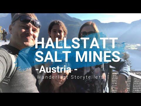 Hallstatt Salt Mines in Salzkammergut Austria | Hallstatt Saltzwelten
