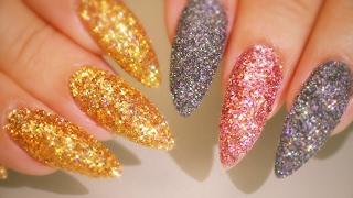 Textured Glitter - Crushed Diamond Powders