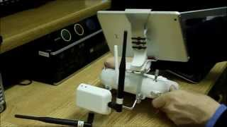 DJI Phantom 2 Vision+ Range Extender Antenna Modification