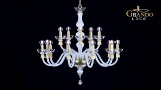 Reina Collection Crystal Chandeliers - GrandoLuce Video