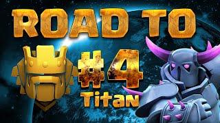 Clash Of Clans Magyarul | Road To Titan #4 | 4000 Kupa, Nehézségek...