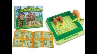 Menekülő süncsemeték, logikai játék (Hedgehog Escape)