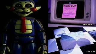 Five Nights at Candy's Remastered ALL ENDINGS (FNAC 4)