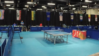 2019 CWG - Table Tennis - Women's/Men's Team Semi-Finals  - Table 1