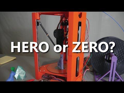 101Hero 3D Printer Review