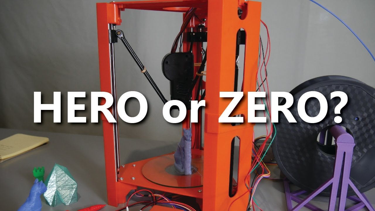 video 101Hero 3D Printer