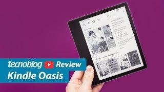 Kindle Oasis (2017) - Review Tecnoblog