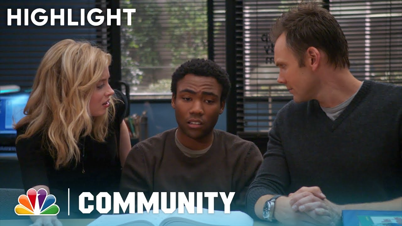 Convincing Troy Into Liking Annie - Community