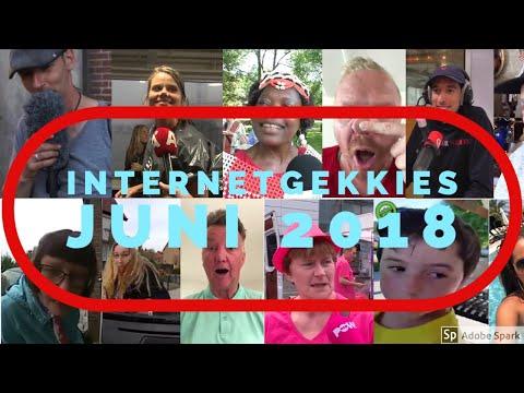 De Internetgekkies van de maand Juni 2018