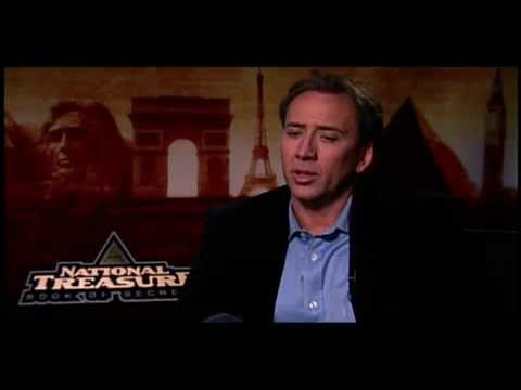 National Treasure Book of Secrets Cast Interviews Trailer (HD)