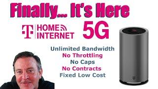 🔴TMoblile 5G Home Internet... Goodbye Comcast!