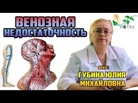 Венозная недостаточность. Симптомы, лечение. Ортопедические стельки. Врач Губина Юлия Михайловна.