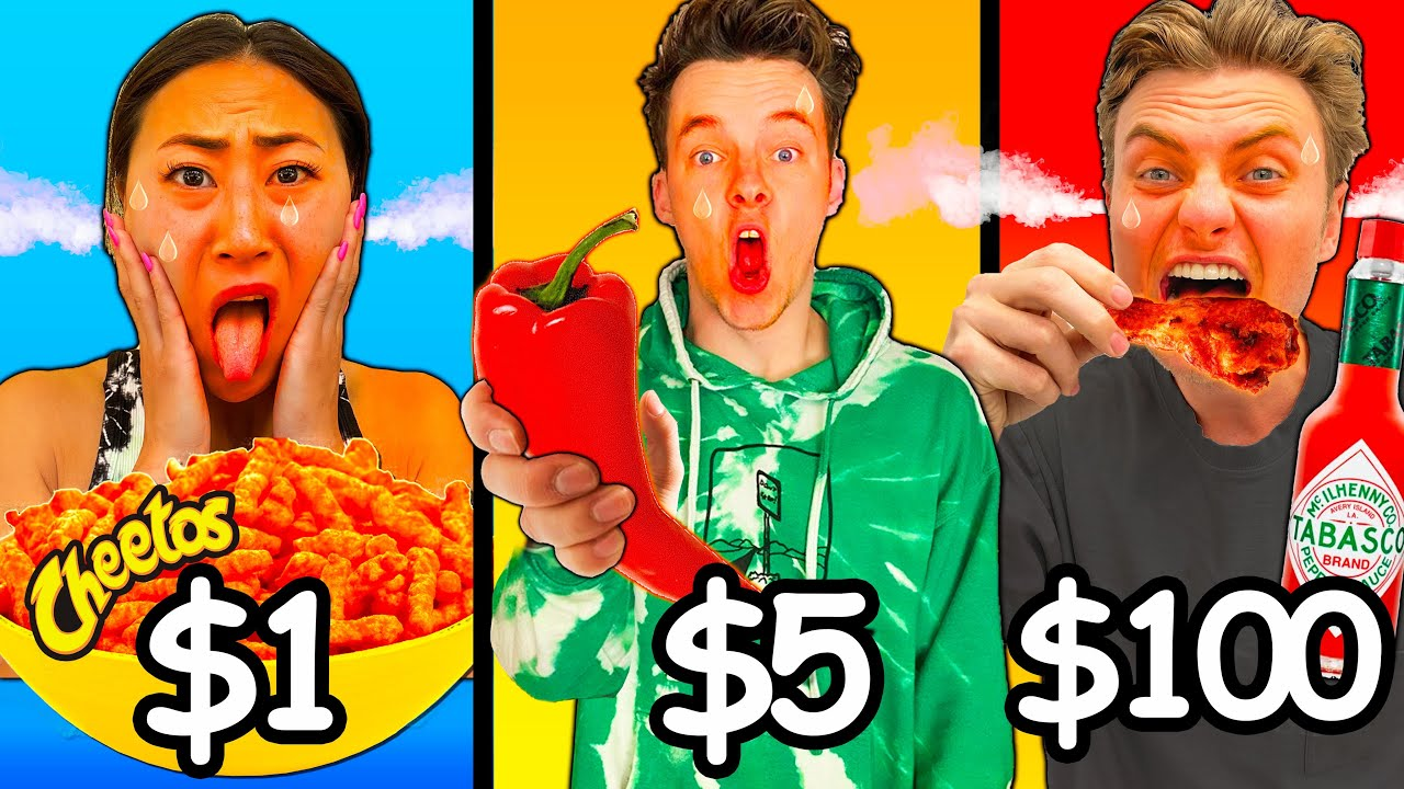 EAT IT AND ILL PAY FOR IT!! (SPICY FOOD EDITION)