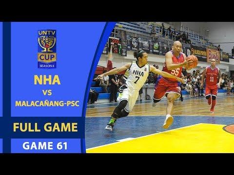 FULL GAME: NHA vs Malacañang-PSC (February 11, 2018)