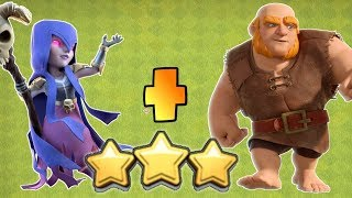 GIANT & WITCH STRATEGY FOR EVENT, CLASH OF CLANS INDIA