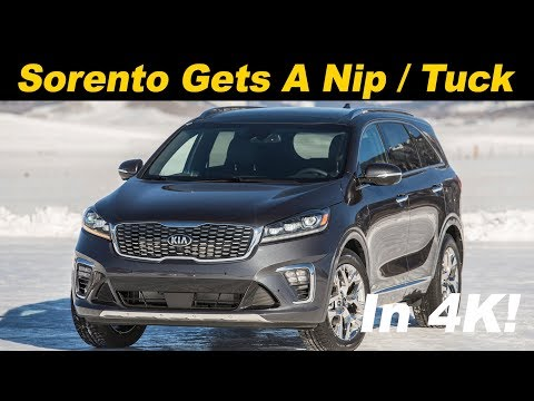 2019 Kia Sorento Review - First Drive in 4K