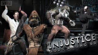 Injustice Gods Among Us - Playing as The Arkham Asylum Inmates! (Injustice Mod)