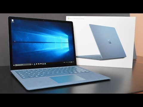 Thumbnail: Microsoft Surface Laptop: Unboxing & Review