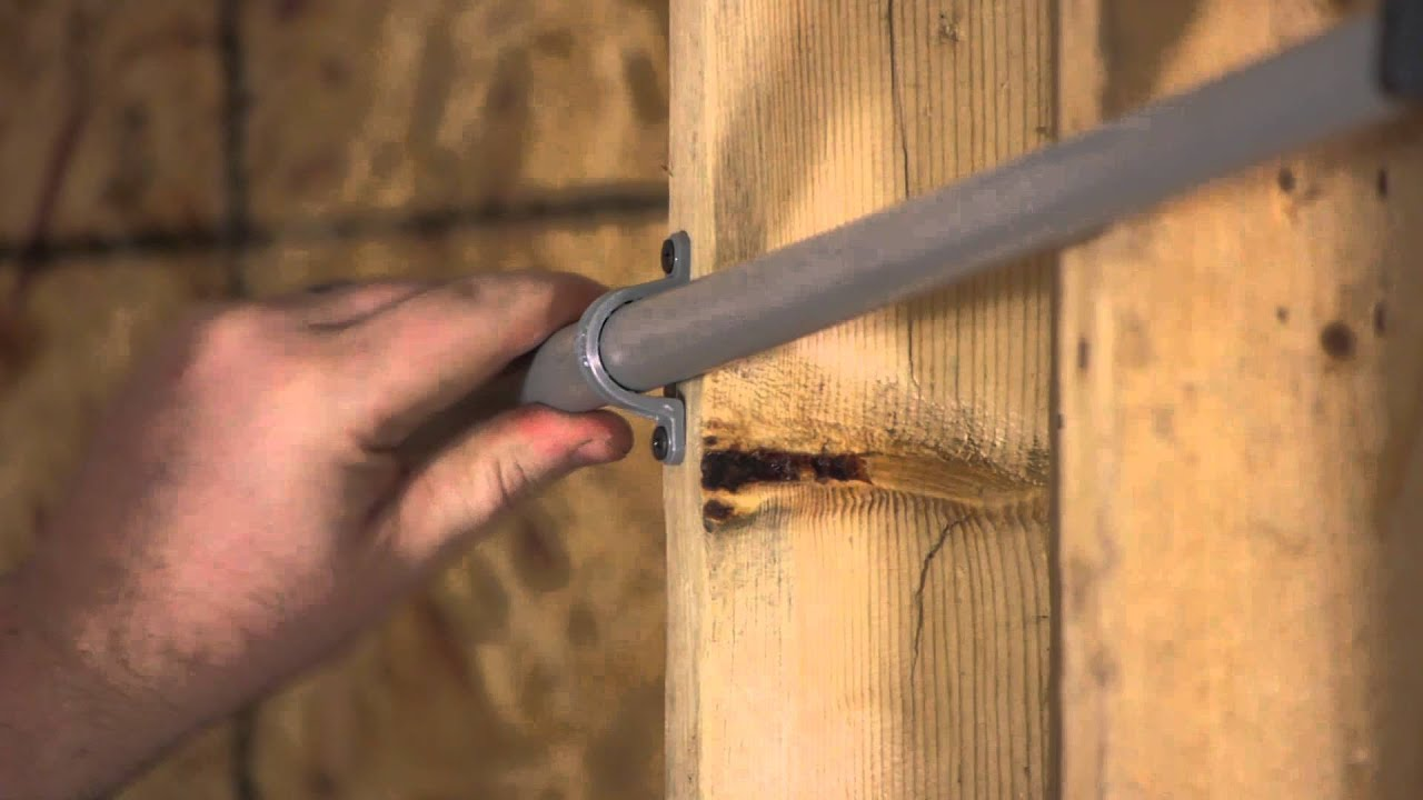 Proper Mounting Of An Electrical Conduit Work Youtube House Wiring Metal