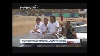 Alejandro Toledo cuestiona a encuestadoras