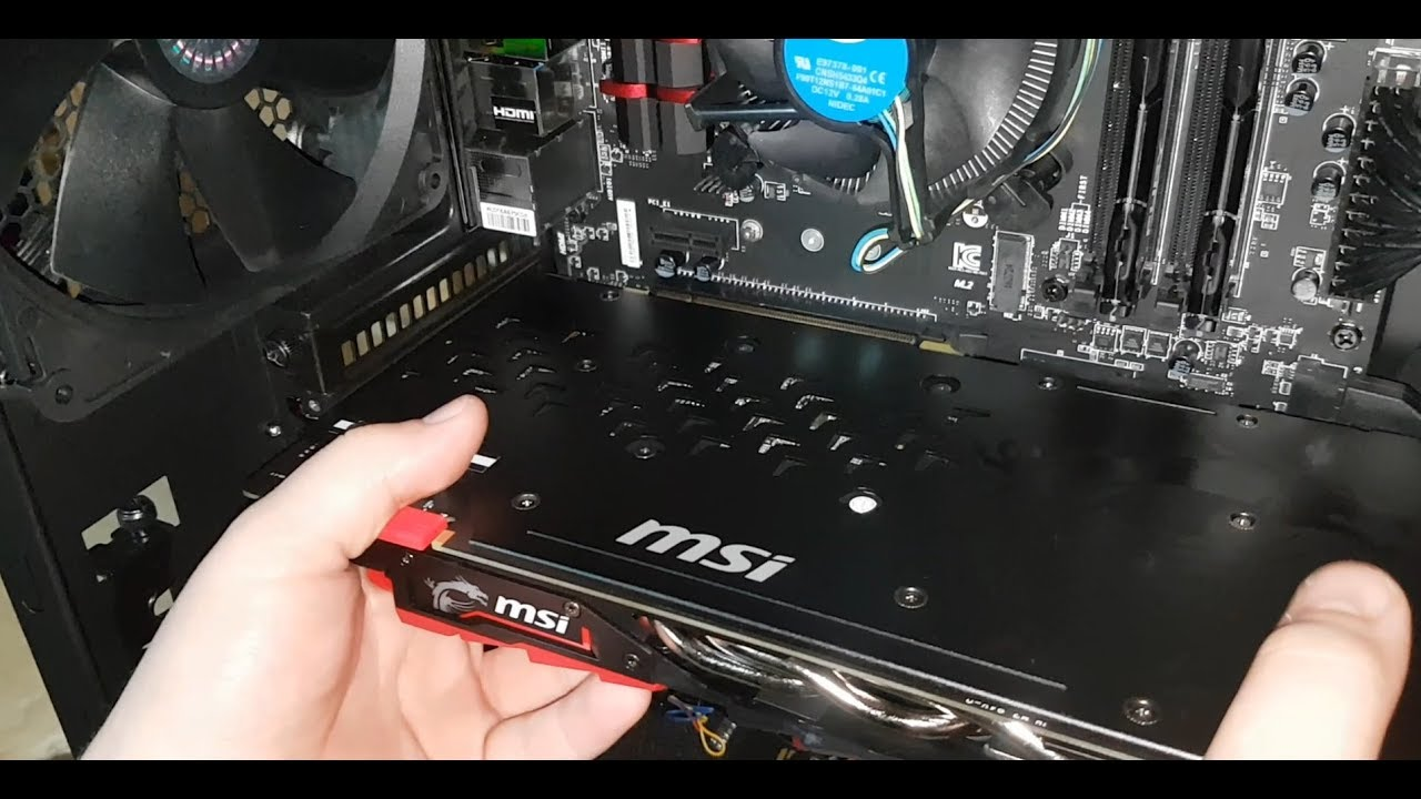 How To: Install or Upgrade an Nvidia Graphics Card