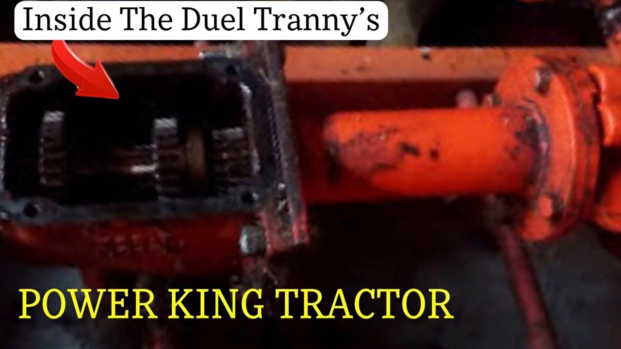 medium resolution of 1970 economy power king tractor checking tranny s oil