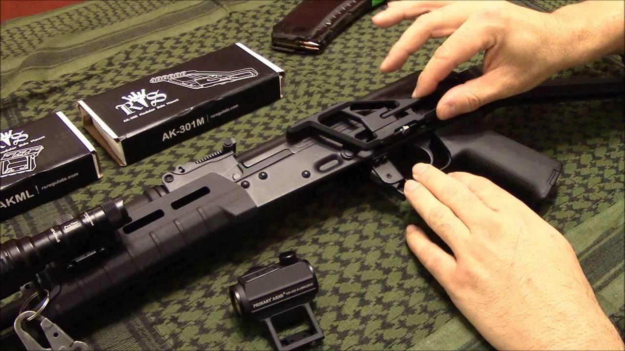RS Regulate AK Red Dot Mount- AK-301 & AKML