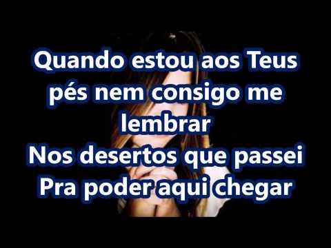 Gisele Cristina - Deixa Eu Te Adorar Play Back-legendado.