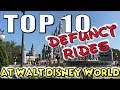 Top Ten Defunct Rides at Walt Disney World